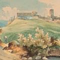 Georg Geyer 1823   Wien   1912   Burg Brandzoll In Tirol by Georg Geyer
