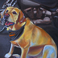 George And The Harley by Kaytee Esser