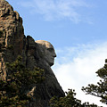 George At Mount Rushmore by George Jones