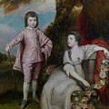 George Capel, Viscount Malden, And Lady Elizabeth Capel by Joshua Reynolds