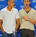 George Clooney, Ryan Gosling by Everett