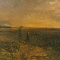 George Fuller   Twilight On The Prairie by George Fuller