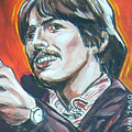 George Harrison by Bryan Bustard