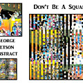 George Jetson Abstract - Don't Be A Square by Marian Bell
