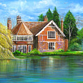 George Michaels Estate In Goring,england by Patrice Torrillo