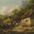 George Morland  The Bell Inn by George Morland