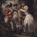 George Morland   The Deserters Farewell by George Morland