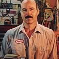 George My Mechanic by Hans Droog