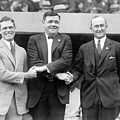 George Sisler - Babe Ruth And Ty Cobb - Baseball Legends by International  Images