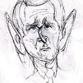 George W. Bush by Cartoon Hempman
