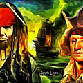 George Washington And Abraham Lincoln The Pirates by Leonardo Digenio