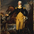 George Washington Before The Battle by John Trumbull