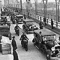 George Washington Bridge Open by Underwood Archives