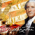 George Washington Father Of Our Country by Steve Grochowsky