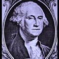 George Washington In Light Purple by Rob Hans