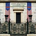 George Washington Monument Presidency Baltimore by James Brunker