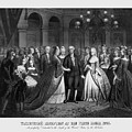George Washington's Reception At White House - 1776  by War Is Hell Store