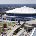 Georgia Dome In Atlanta by Anthony Totah