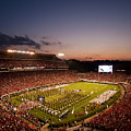 Georgia Sunset Over Sanford Stadium by Replay Photos