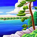 Georgian Bay Shores II by Lynn Soehner
