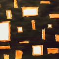 Geosequence In Black And Copper by Alexis Keels
