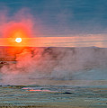Geothermal Sunrise by Izet Kapetanovic