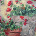 Geraniums by Ginger Concepcion