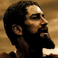 Gerard Butler  In 300 by Carl Gouveia