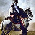 Gericault: Trumpeter, 1814 by Granger