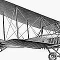 German Airplane, 1913 by Granger