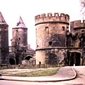 German Gate In Metz 1955 by Will Borden