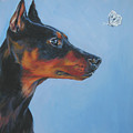 German Pinscher by Lee Ann Shepard