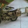 German Sidecar Replica 1943 by Richard John Holden RA