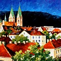 Germany Freiburg by Leonid Afremov