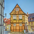 Germany - Half-timbered Houses And Alleys In Quedlinburg by Ina Kratzsch
