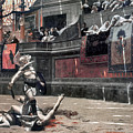 Gerome: Gladiators, 1874 by Granger
