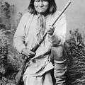 Geronimo Apache Indian Native American by Peter Nowell