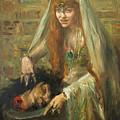 Gertrud Eysoldt As Salome by Lovis Corinth