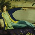 Gertrude Vanderbilt Whitney 1916 by Henri Robert