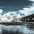 Gervais St. Bridge-infrared by Charles Hite