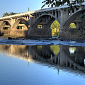 Gervais Street Bridge-1 by Charles Hite