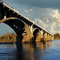 Gervais Street Bridge, Columbia, Sc by Skip Willits