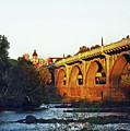 Gervais Street Bridge Upstream  by Skip Willits