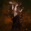 Geshtinanna Goddess Of Grape Vine by Shanina Conway
