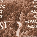 Get Lost Quote by Dan Sproul