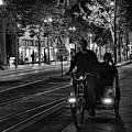 Getting Around San Jose Nights  by Chuck Kuhn
