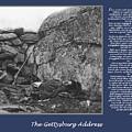 Gettysburg Address Civil War Devils Den by Randy Steele