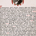 Gettysburg Address by International  Images