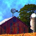 Gettysburg Barn by Bill Cannon