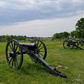 Gettysburg Battlefield Cannons by Judith Rhue
